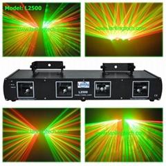 4 head RG stag laser light projector-L2500