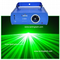 dj disco DMX 50mW Green laser light