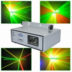 RGY Christmas laser lighting