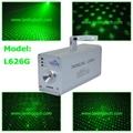 green twinkling laser light club lighting
