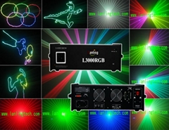 Sell 3W RGB Animation ILDA laser light supplier outdoor laser light
