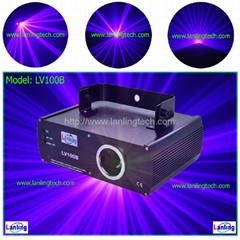 100mW DMX Violet laser light-LV100B