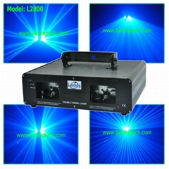 2 head Blue laser light party light-L2800
