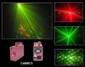 Cross Star Twinkling Laser light stage light for dj disco