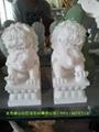 汉白玉石狮子 3