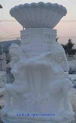 漢白玉噴泉