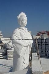 汉白玉雕像