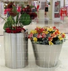 Stainless Steel Flower pot(SZHP-129)