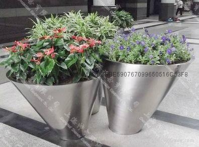 Stainless Steel Flower pot(SZHP-254) 1
