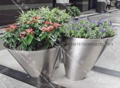Stainless Steel Flower pot(SZHP-254)