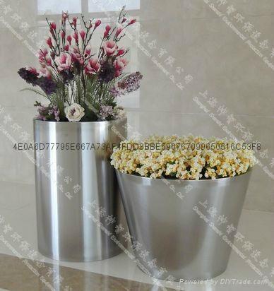 Stainless Steel Flower pot(SZHP-129) 1
