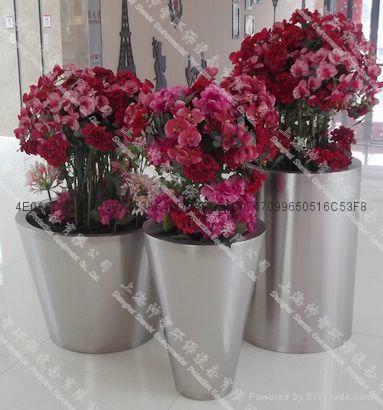 Stainless Steel Flower pot(SZHP-145)  1