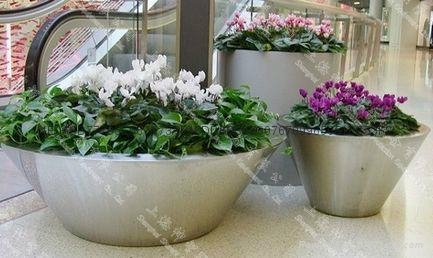 Stainless Steel Flower pot(SZHP-149) 1