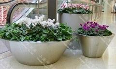Stainless Steel Flower pot(SZHP-149)