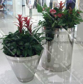 不鏽鋼花盆(SZHP-105) 1