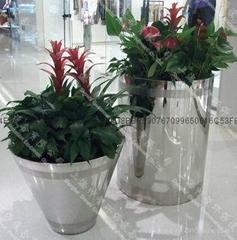 不锈钢花盆(SZHP-105)