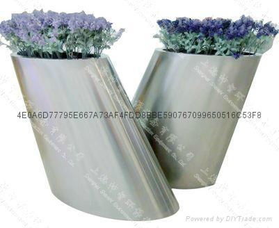 Stainless Steel Flower pot(SZHP-173) 1
