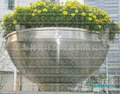Stainless Steel Flower pot(SZHP-117)