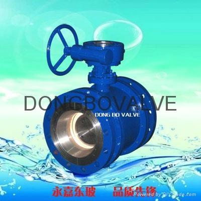Ceramic half of an eccentric valve 2