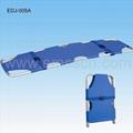 2 Fold Aluminum Alloy Flat Foldaway Stretcher