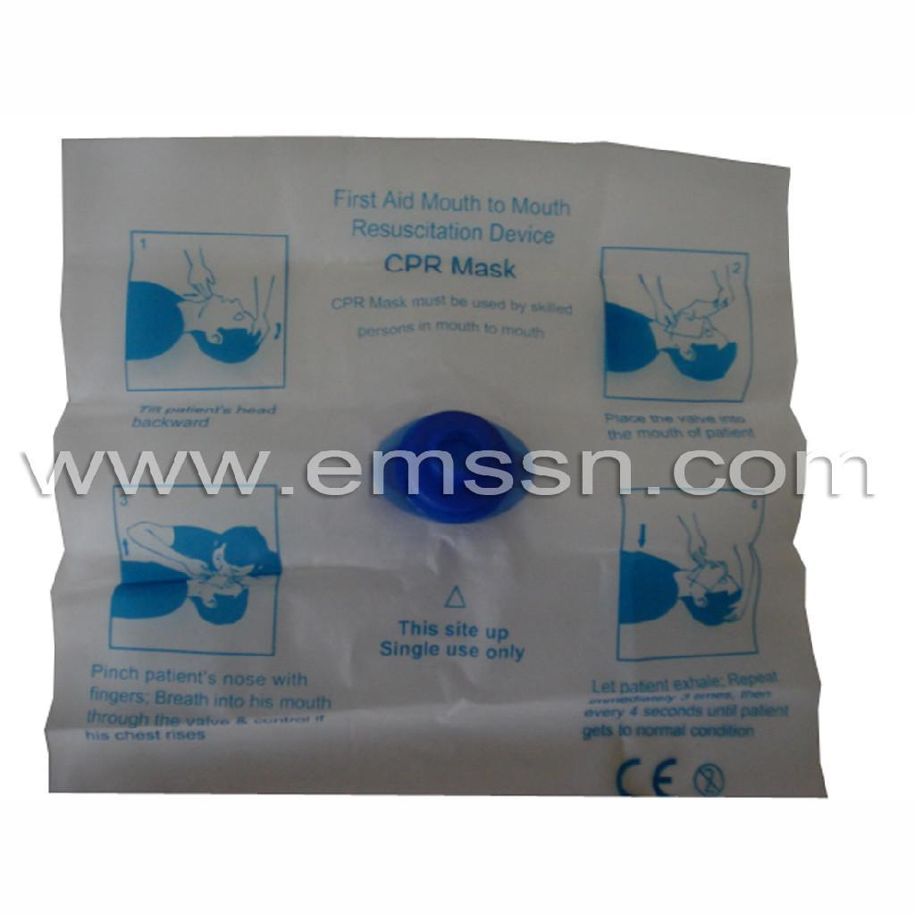 Disposable One Way Valve CPR Mask   6