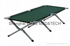 Portable camping bed