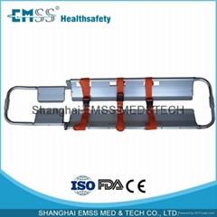 Aluminum alloy Foldable Scoop Stretcher