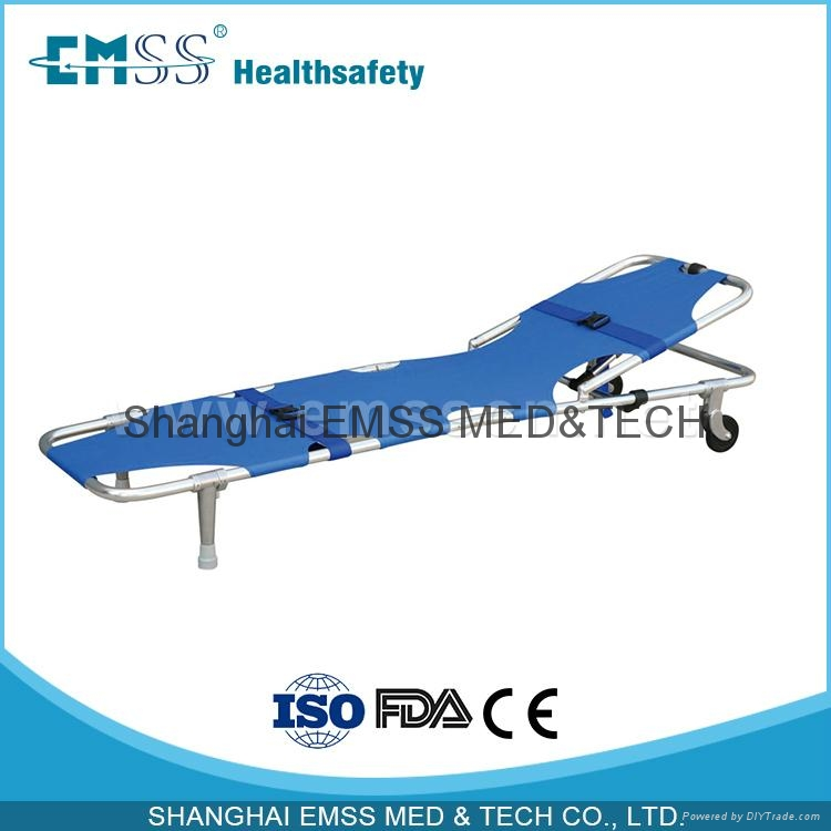 Foldable Stretcher With Wheels