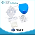EH-010 CPR Mask with hard case / one way valve cpr mask