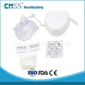 Customized CPR Mask Key Chain / medical mask shield / one way valve cpr mask