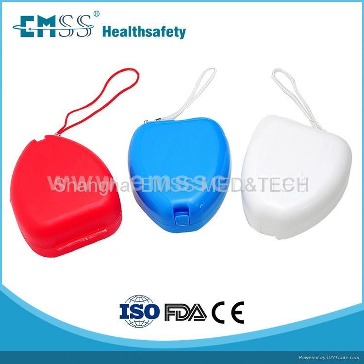 EH-010 隨身人工呼吸面罩 2