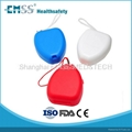 EH-010 Ambulance portable respirator rescue breathing mask CPR mask 3