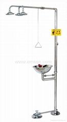 EXY-006-A 復合式不鏽鋼緊急沖淋洗眼器