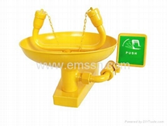 EXY-023A Automatism Emptying Antifrozen Wall Eye Shower