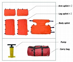 EJB-005B Vacuum splint set(5 parts)