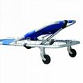 wheeled folding stretcher