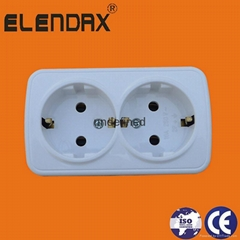 Wall Power Socket with Earth