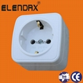 Wall Power Socket with Earth 4