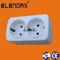 Wall Power Socket with Earth 5