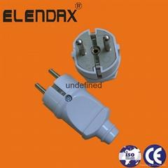 German standard 2 round pin electrical