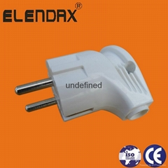 Electrical adapters with 4.0 round pin plug