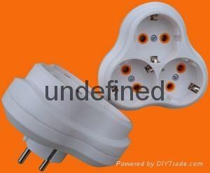 2 Round Pin Power Adapter 1