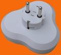 2 Round Pin Power Adapter 4
