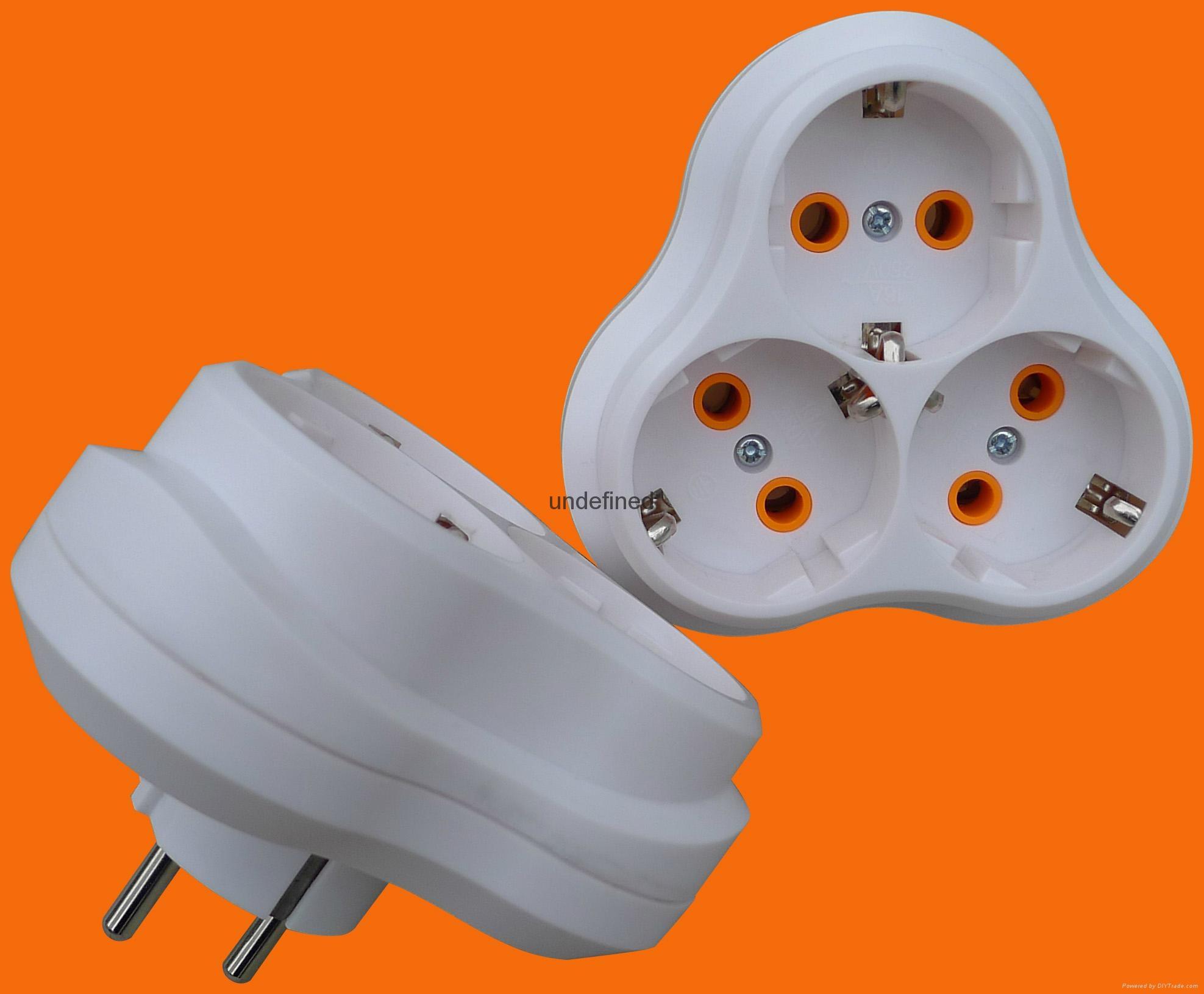2 Round Pin Power Adapter 5