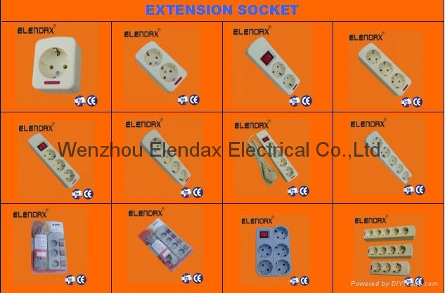 Extension Power Socket 4
