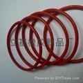 硅胶O型圈 密封硅胶O型圈 1