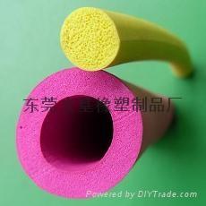 硅膠發泡管