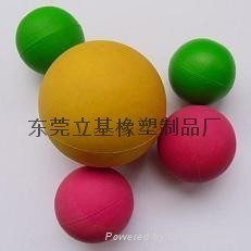 Foam rubber ball