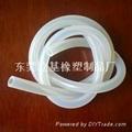 Fire silicone tube, flame-retardant
