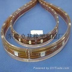 LED軟管,燈條軟管,LED硅膠軟管,LED防水套管